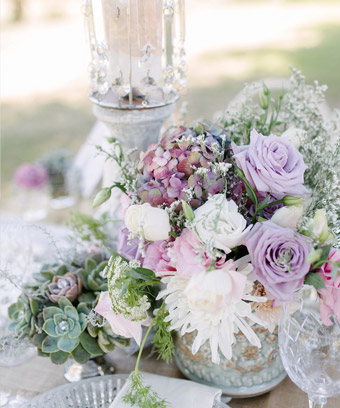 Light Flair- Styled Shoot Romantic Chic