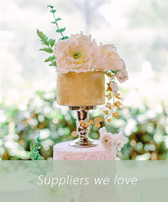 Light Flair - Suppliers we love - Pink mint wedding decor