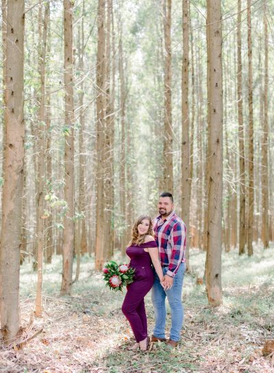 ENGAGEMENT SESSION IN SAPPI FOREST