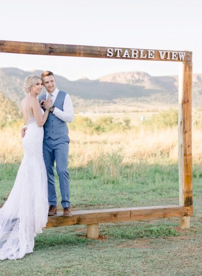 A SUMMER STABLE VIEW WEDDING
