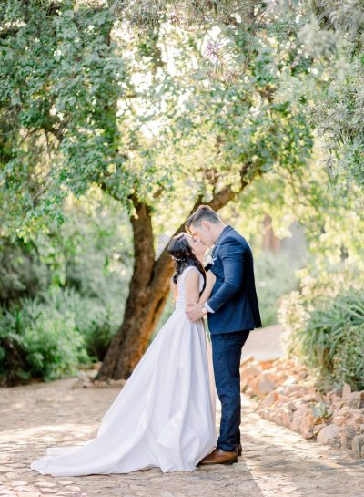 A ROMANTIC RED IVORY WEDDING