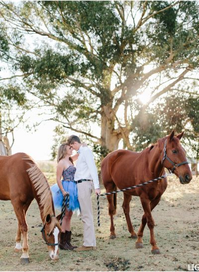 A BEAUTIFUL COUPLE SHOOT WITH HORSES