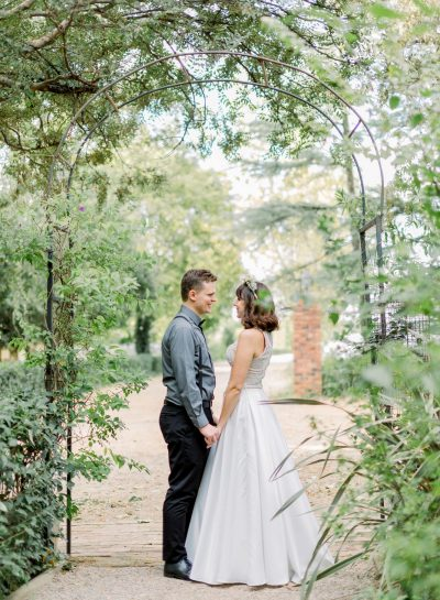 GREEN & WHITE ROMANTIC HERTFORD WEDDING