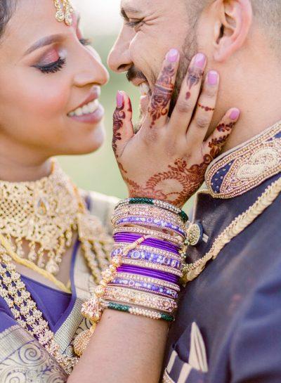 A COLORFUL CRADLE VALLEY WEDDING